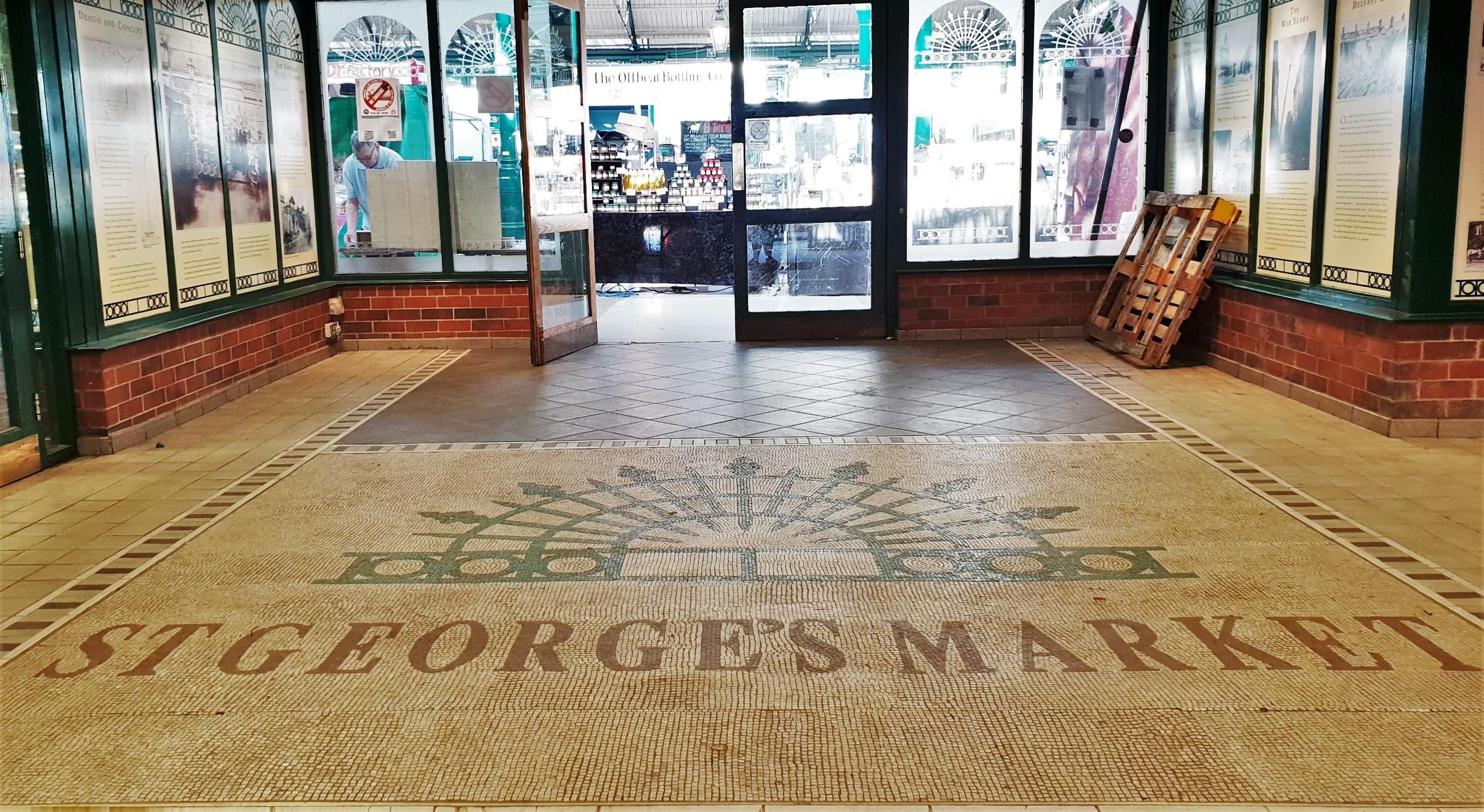 Dove si trova il George's Market di Belfast