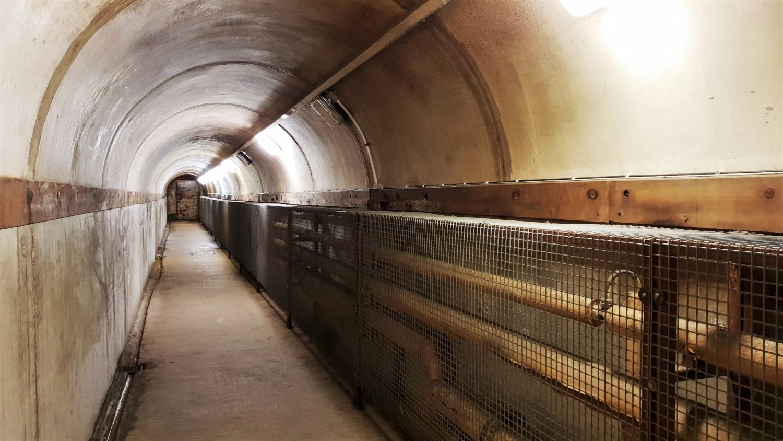 corridoio lungo Crumlin Road Gaol