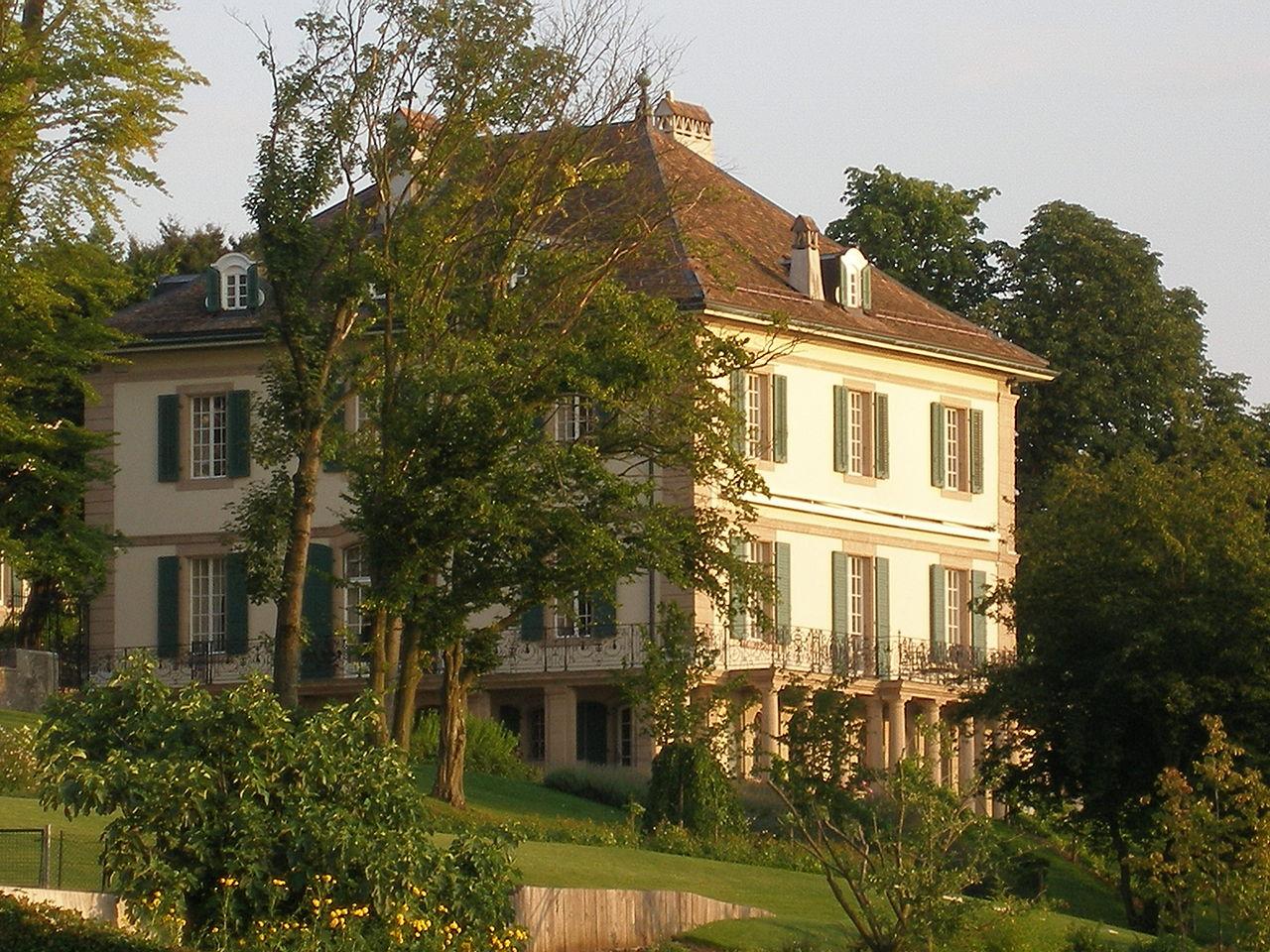 Villa Diodati Ginevra