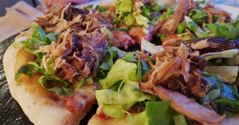 Pizza con la Gallina Imbriaga