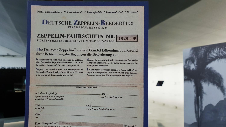 Cosa vedere al museo Zeppelin