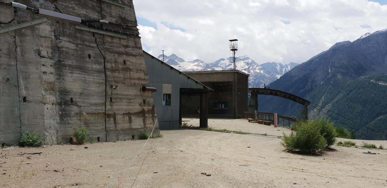 Esterno Miniera di Cogne