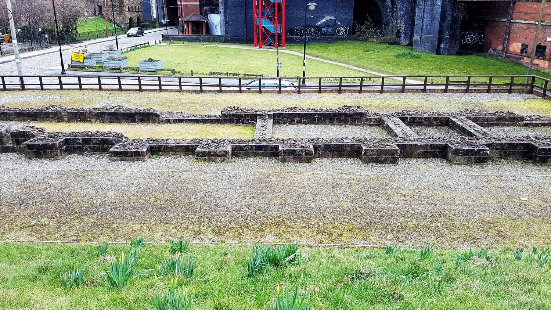 Perimetro del forte romano