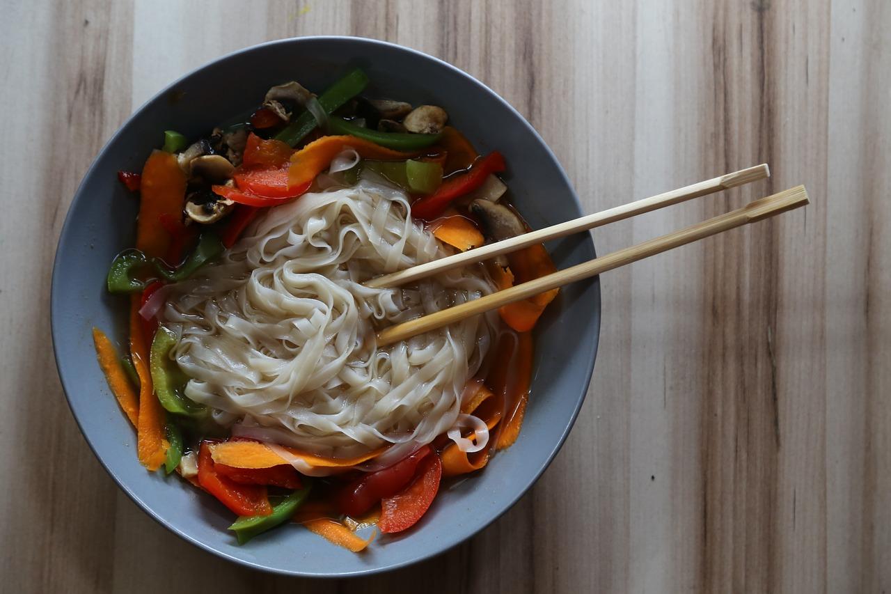 Noodles orientali
