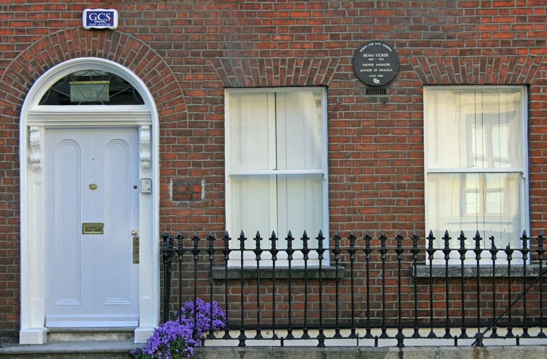 Casa di Bram Stoker a Dublino
