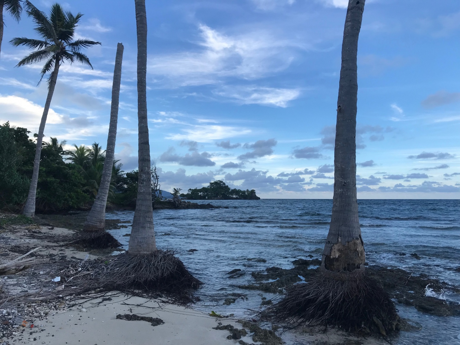 Spiaggia in Colombia