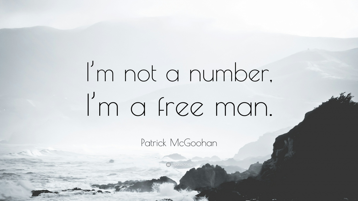 I'm not a number I'm a free man