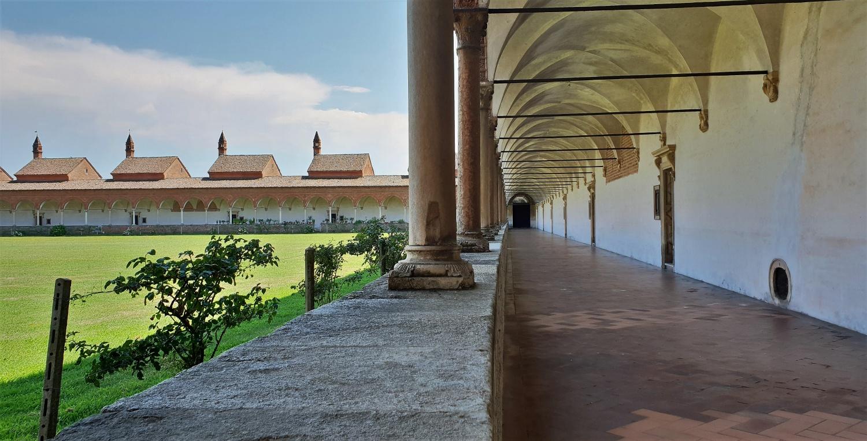 Chiostro Grande Certosa Pavia