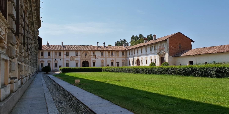 Cortile Interno Certosa di Pavia