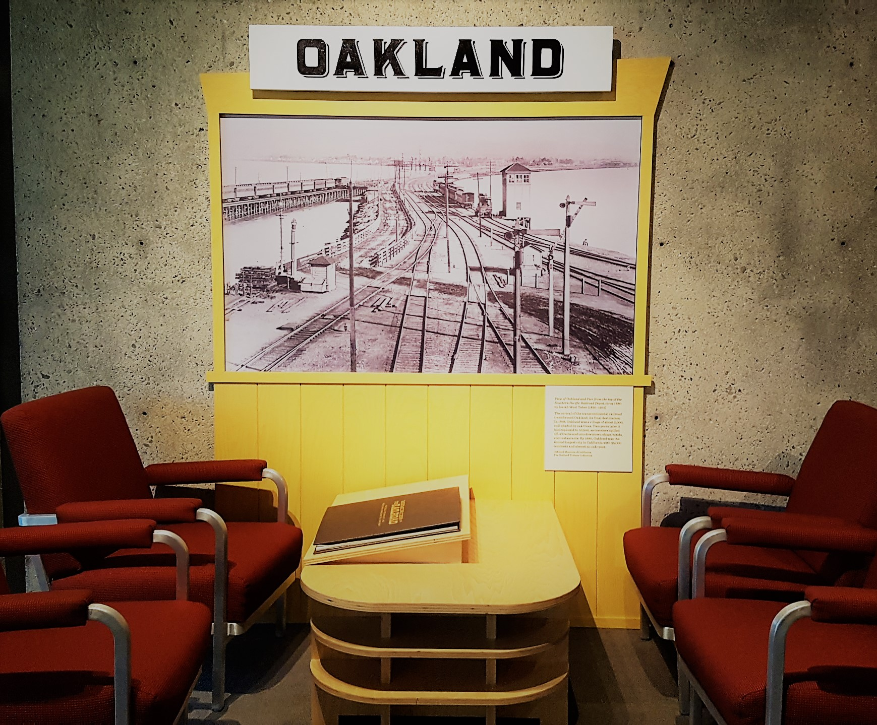 sala d'attesa oakland museo california