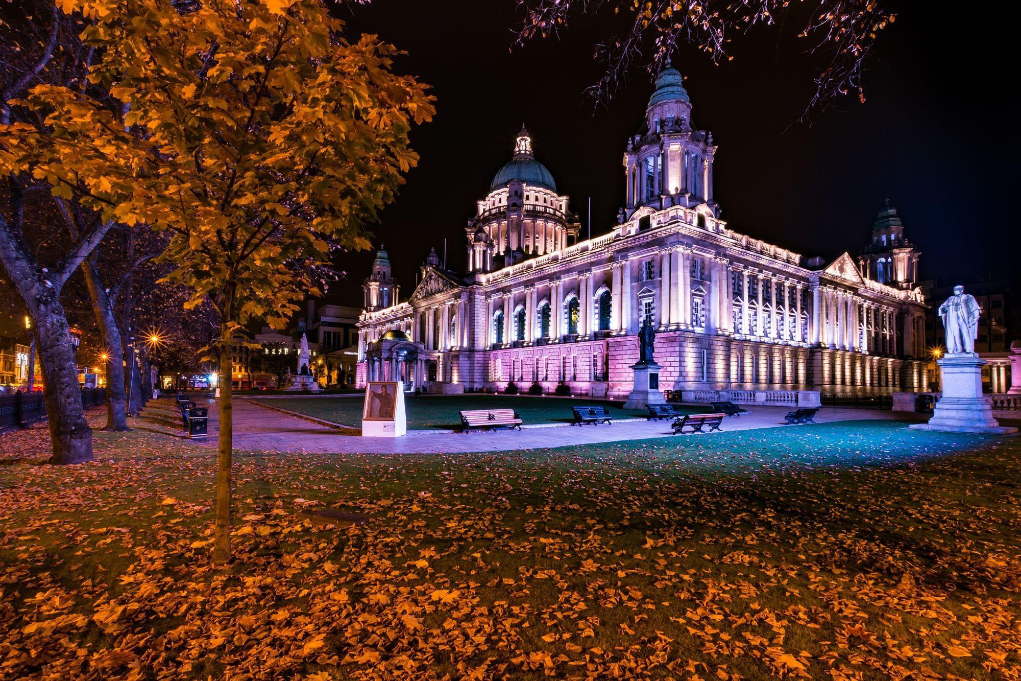 Belfast in autunno
