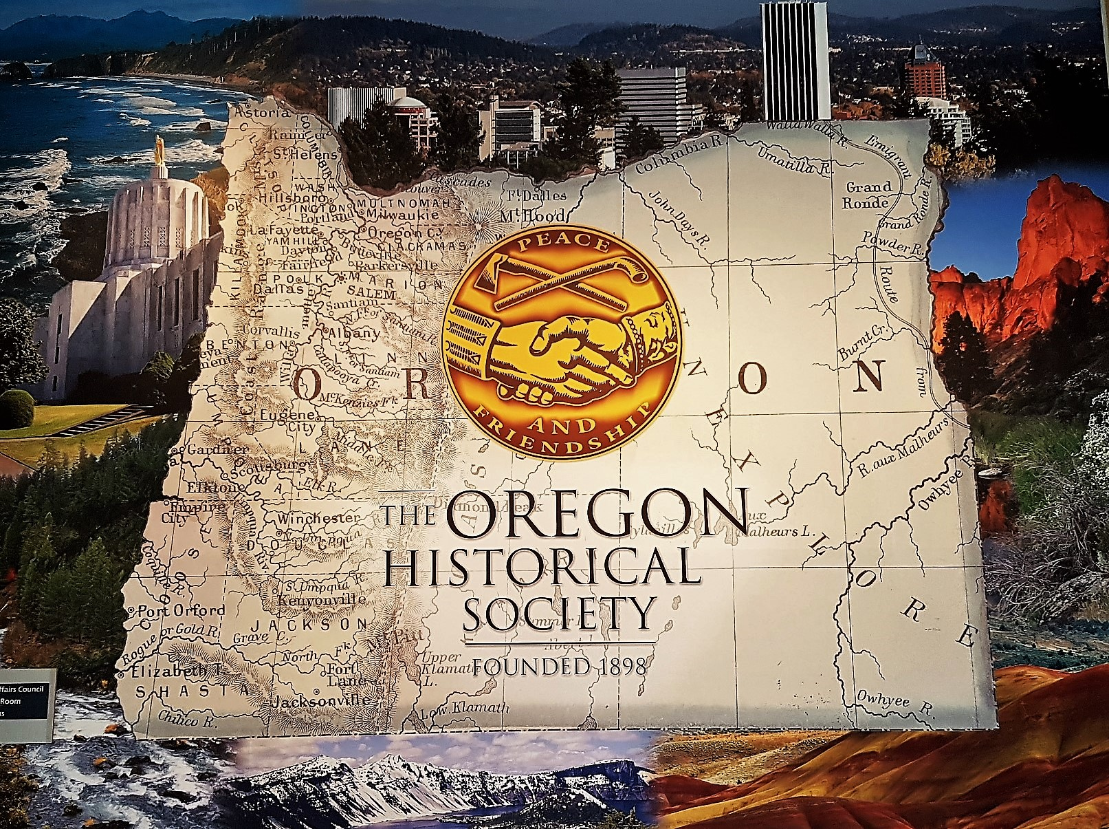 Simbolo Oregon Historical Society