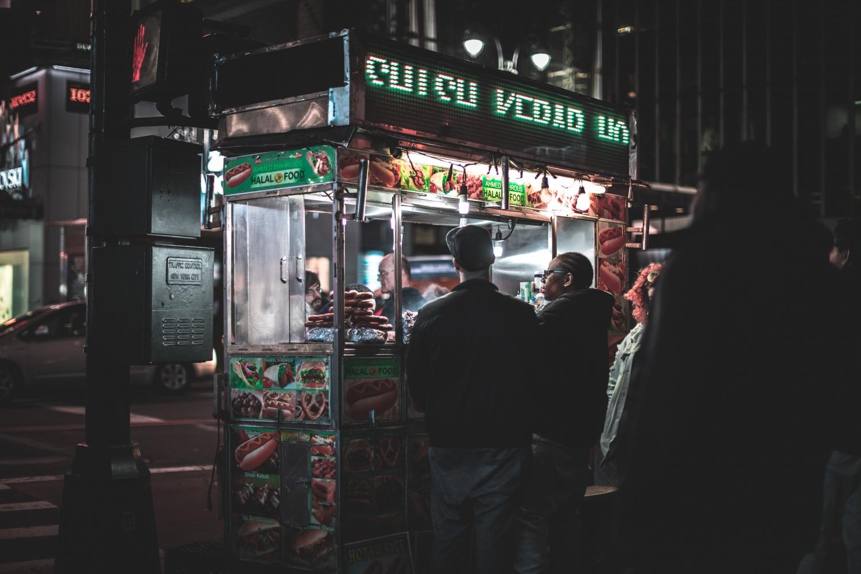 Food truck e cibo di strada