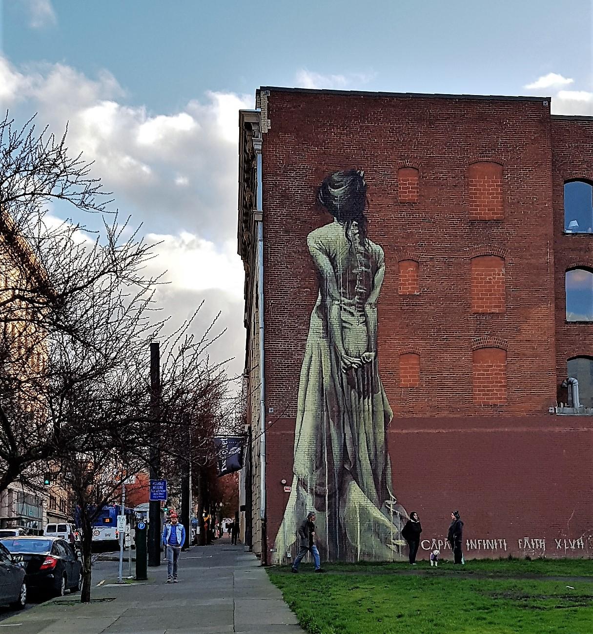 graffiti downton portland