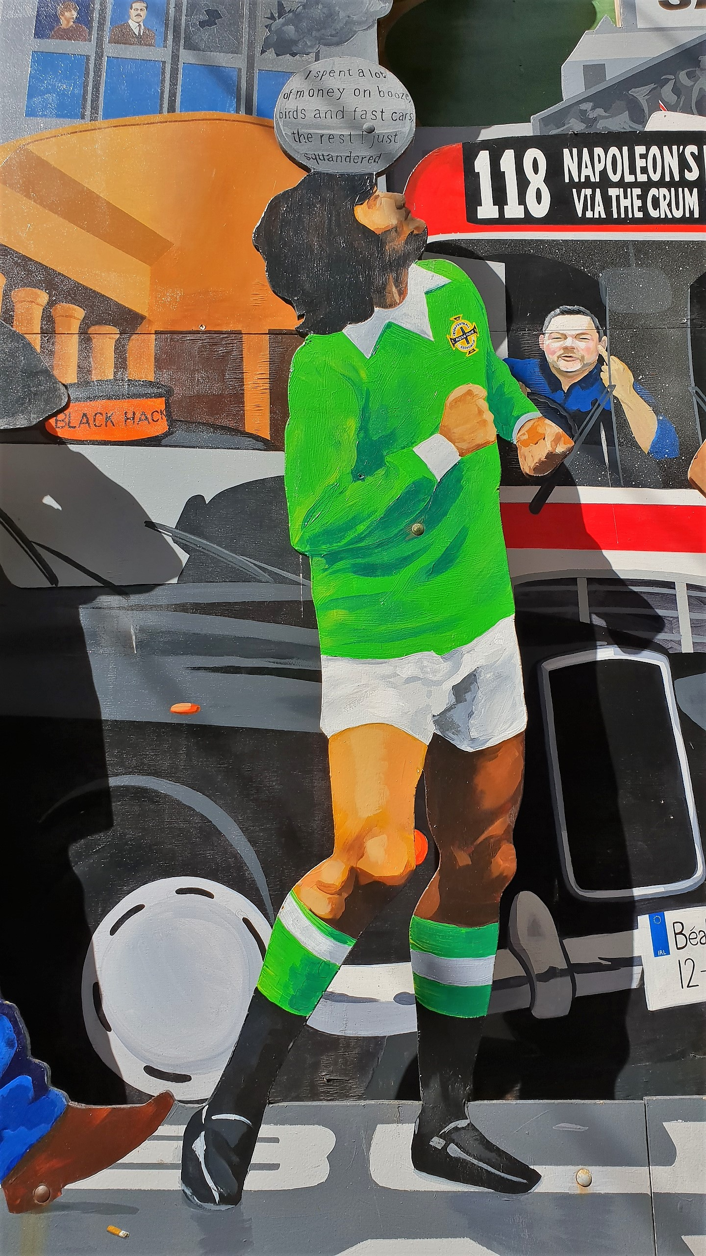 murales george best duke of york