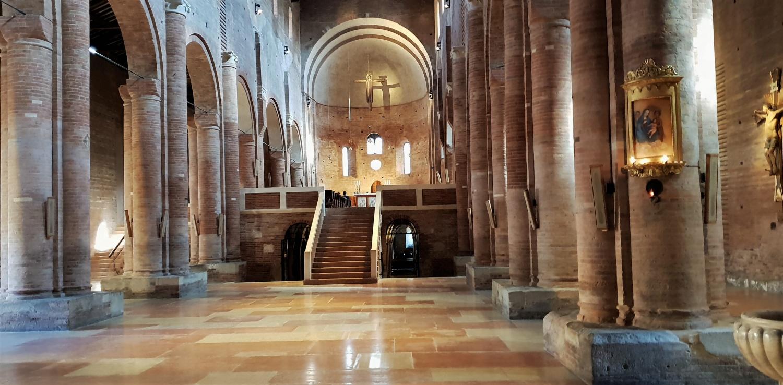 Interno abbazia nonantola