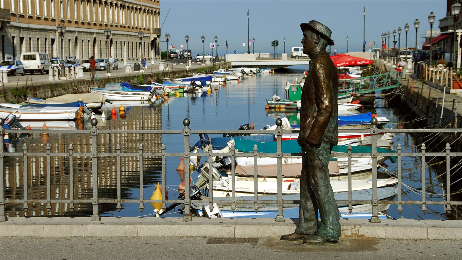 Joyce a Trieste Piazza Ponterosso