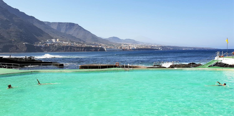 Tenerife un giorno in piscina