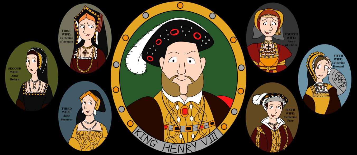 Enrico VIII e le sue Mogli