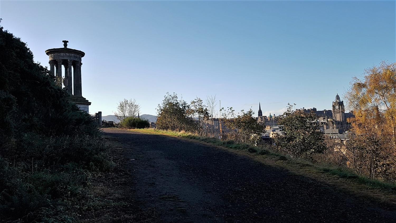 panorama da Calton Hill