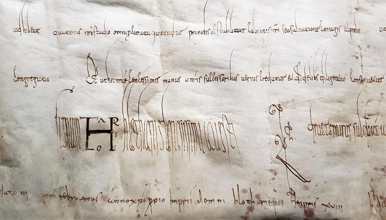 pergamena Lotario