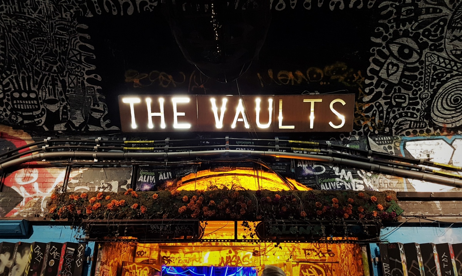 Dove andare a teatro a Londra the vaults