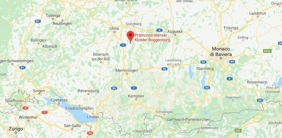 Dove si trova Kloster Roggenburg