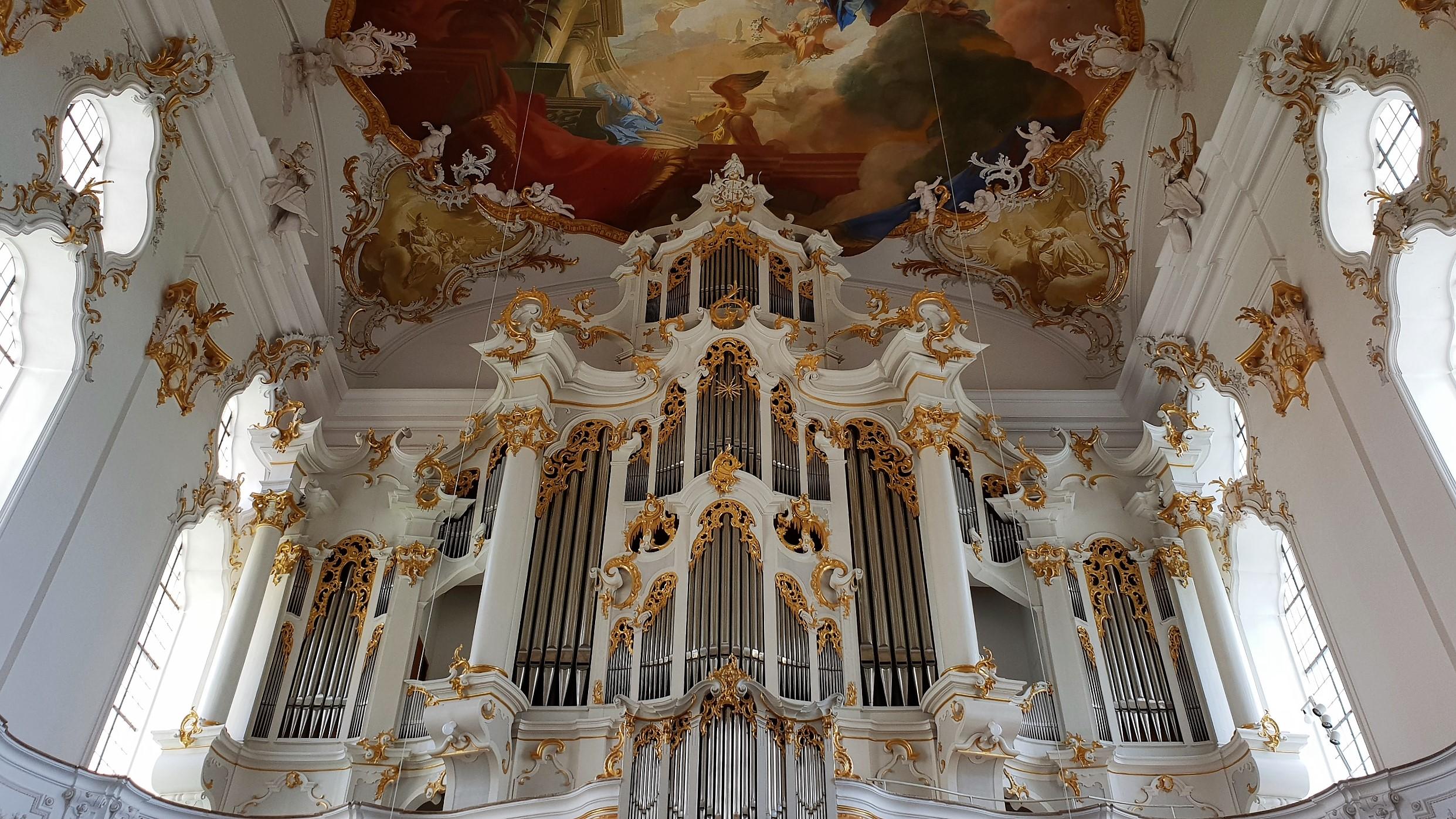 Organo Kloster Roggenburg