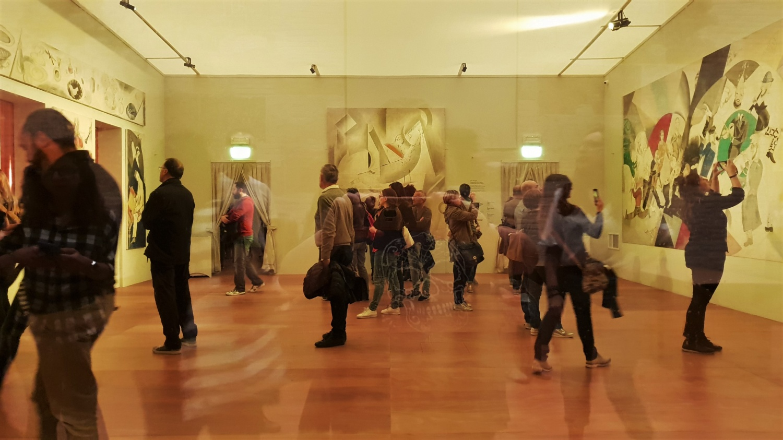 mostra chagall mantova