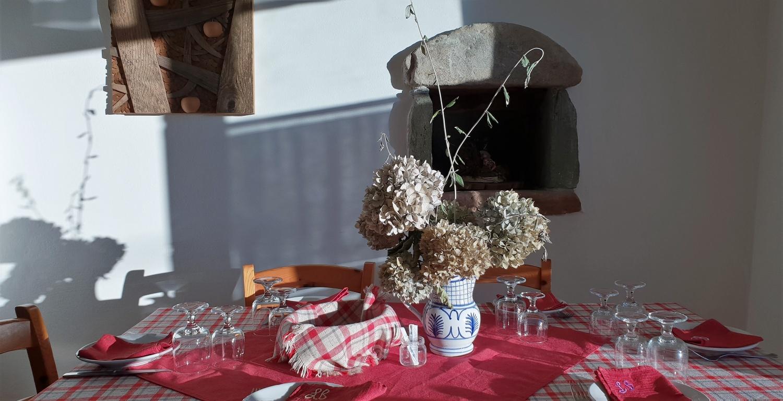 tavola imbandita Le Betulle