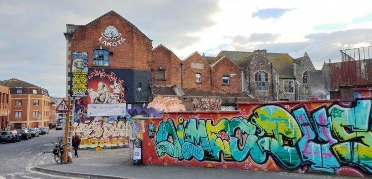 Bristol I murales di Stokes Croft
