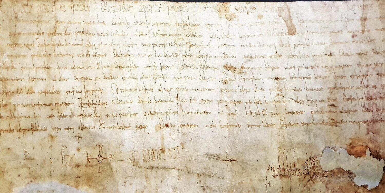 Pergamena Carlo Magno Nonantola