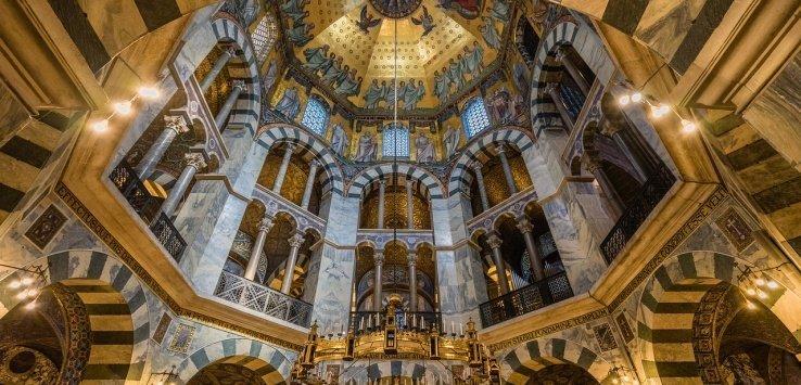 Luoghi di Carlo Magno in Europa