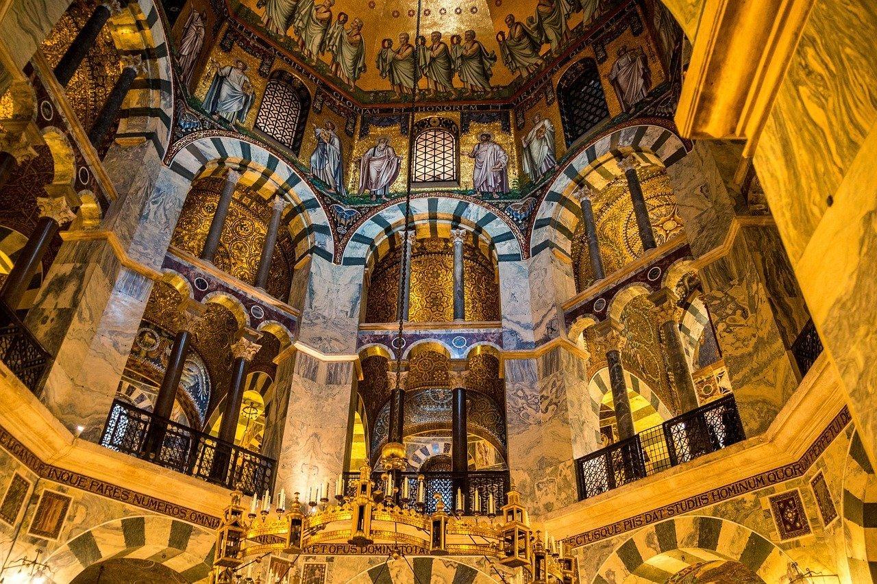 Cattedrale di Aachen e Carlo Magno