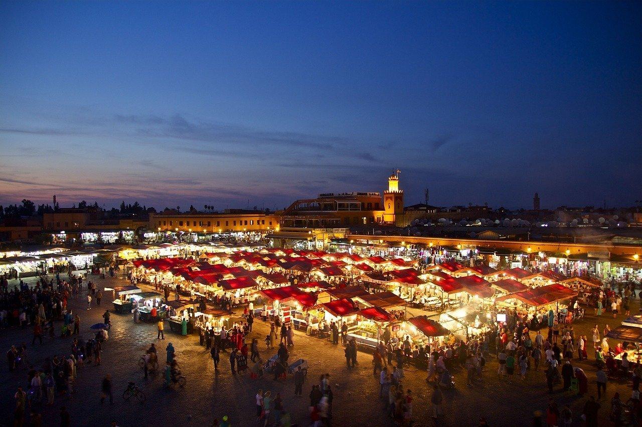 Viaggio a Marrakech in inverno