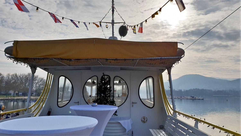 Barca sul Wörthersee