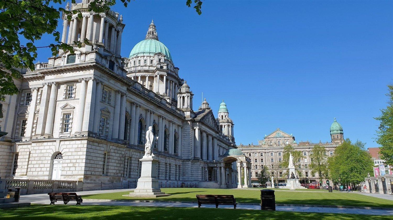 Parco della City Hall di Belfast