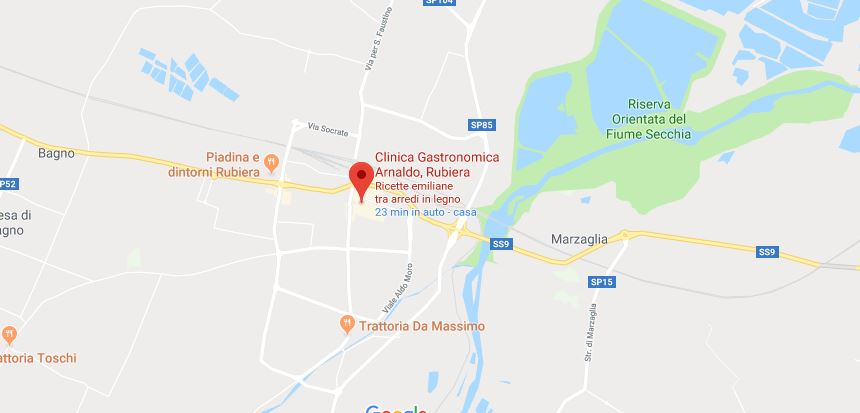Dove si trova la Clinica Gastronomica