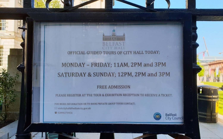 Come organizzarsi per visitare la Belfast City Hall