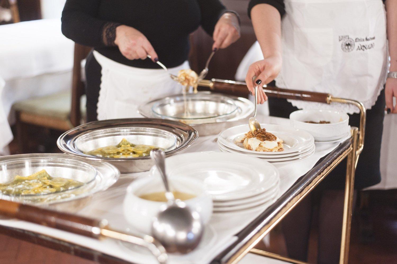 Cosa mangiare alla Clinica Gastronomica Arnaldo