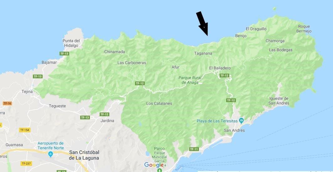 come arrivare alla Playa del Roque de la bodegas