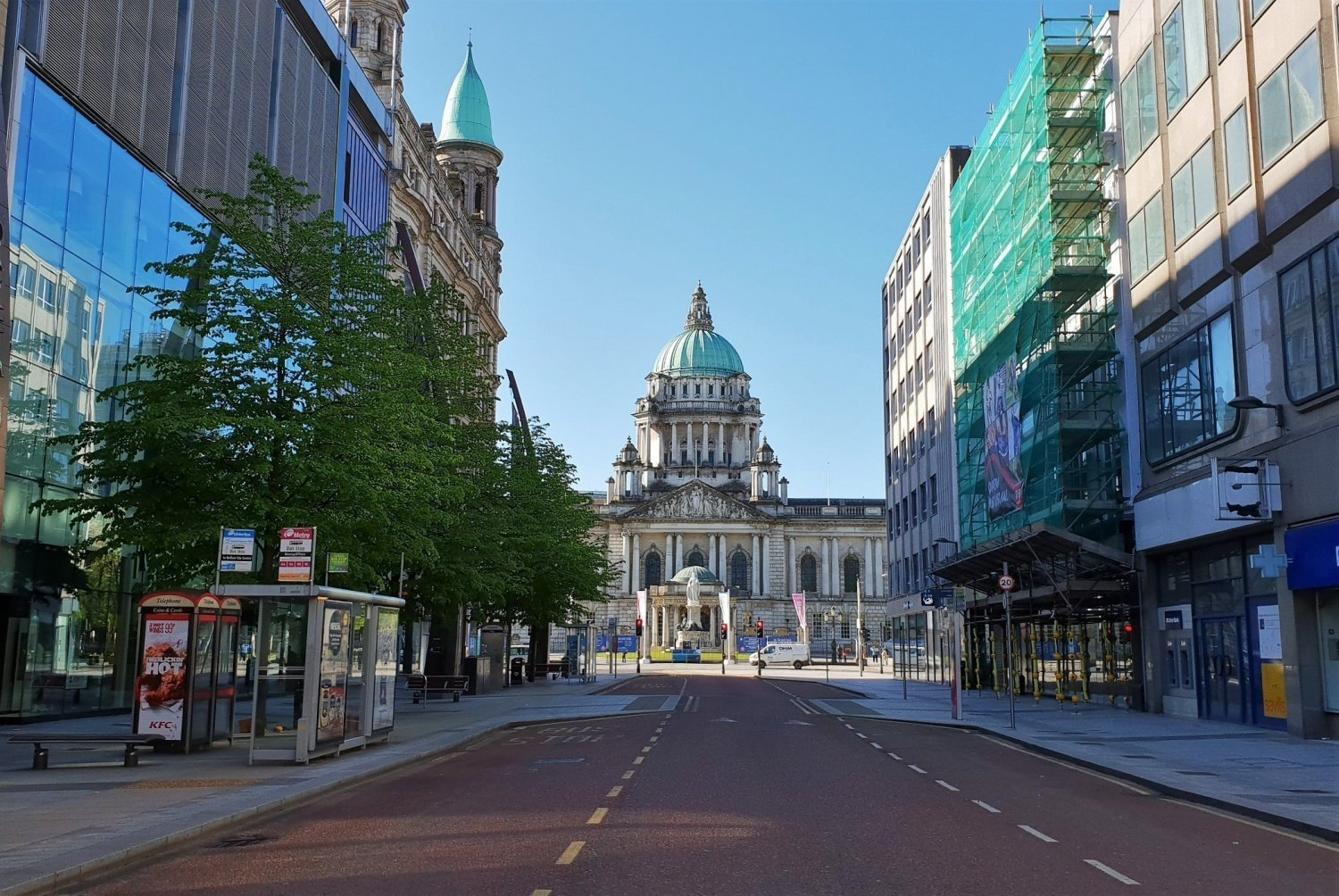 Dove si trova la Belfast City Hall