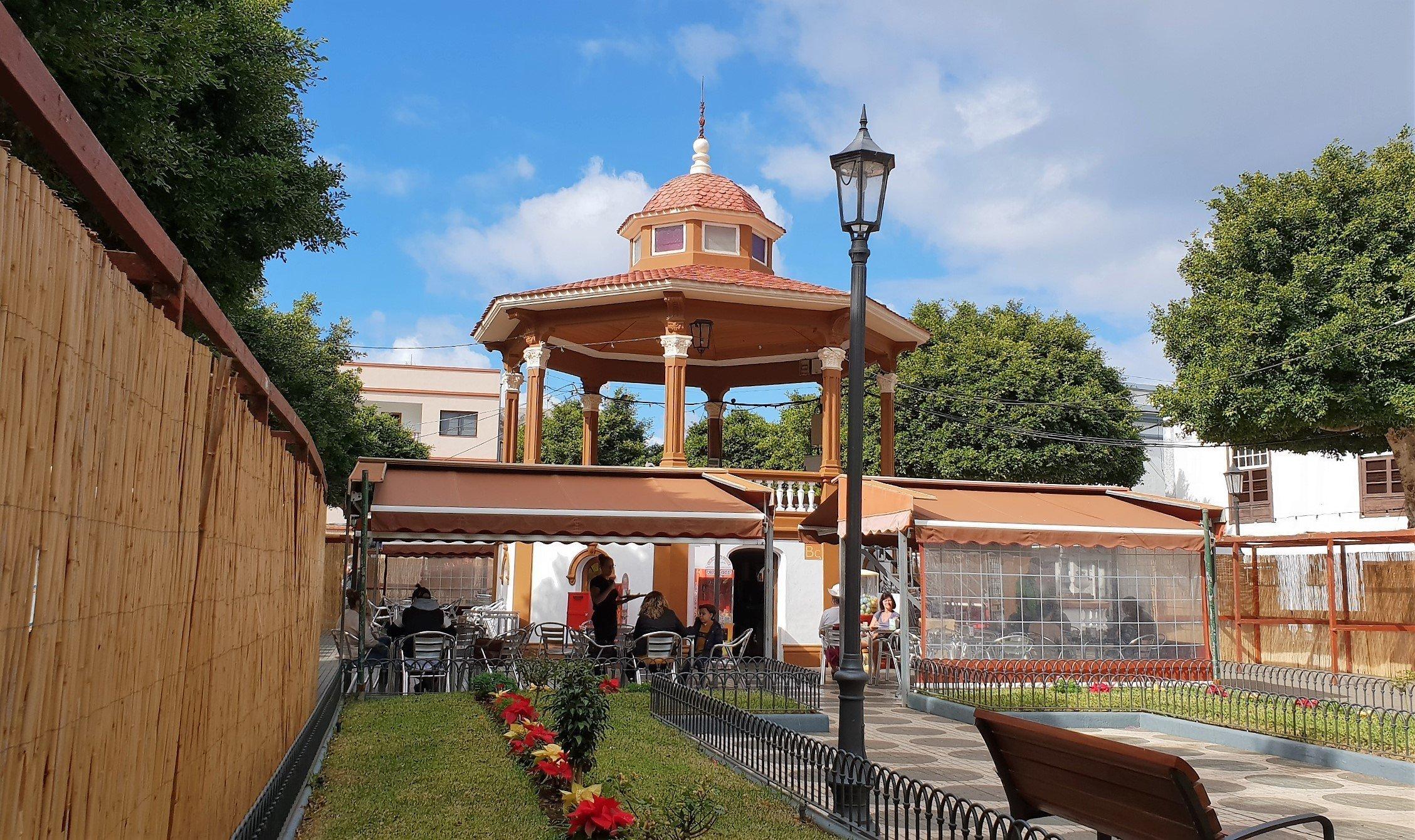 gazebo plaza de la Luz