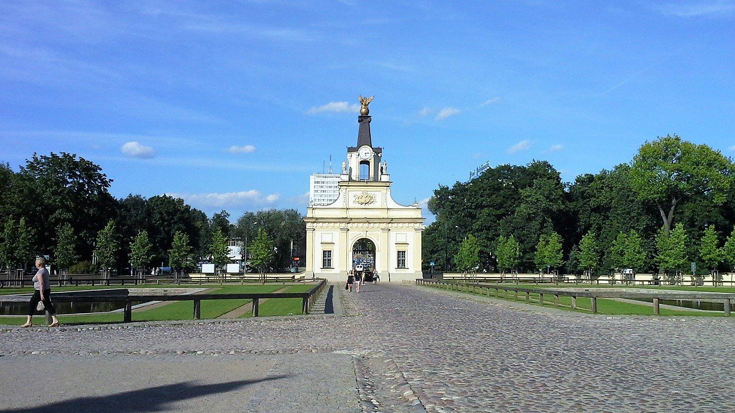 ingresso parco Branicki