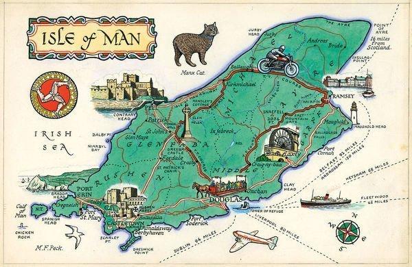 Come spostarsi sull'isola di Man
