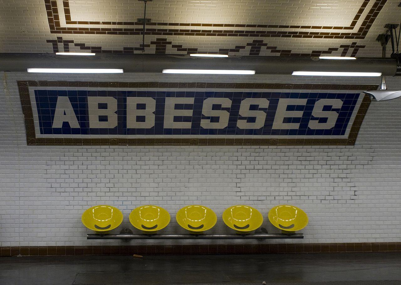 Abbesses Parigi