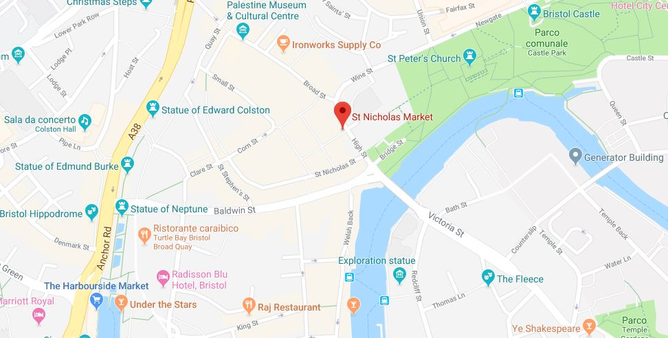 Come raggiungere il St. Nicholas Market di Bristol
