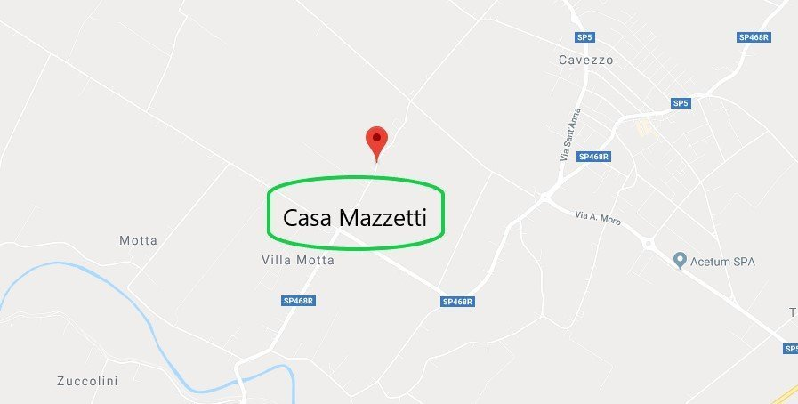 Dove si trova Casa Mazzetti
