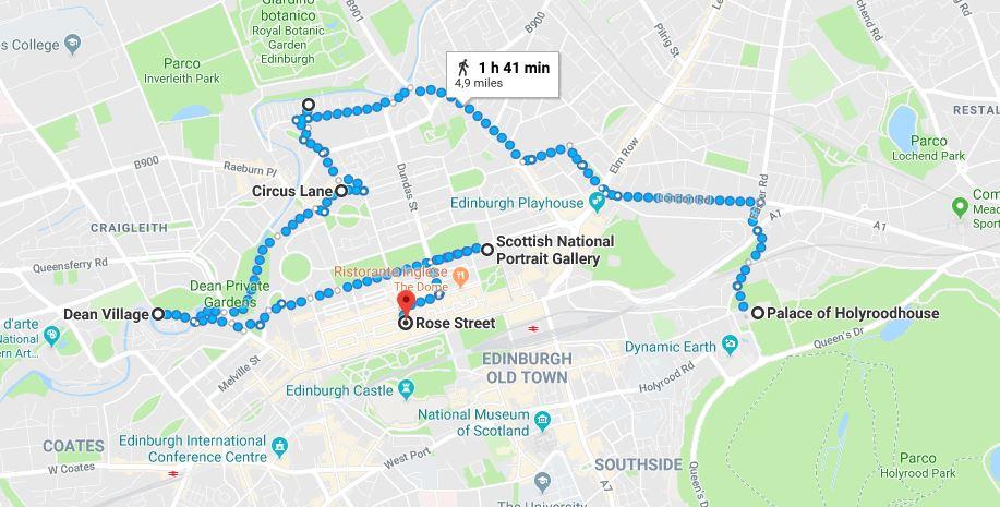 Itinerario per il secondo giorno a Edimburgo