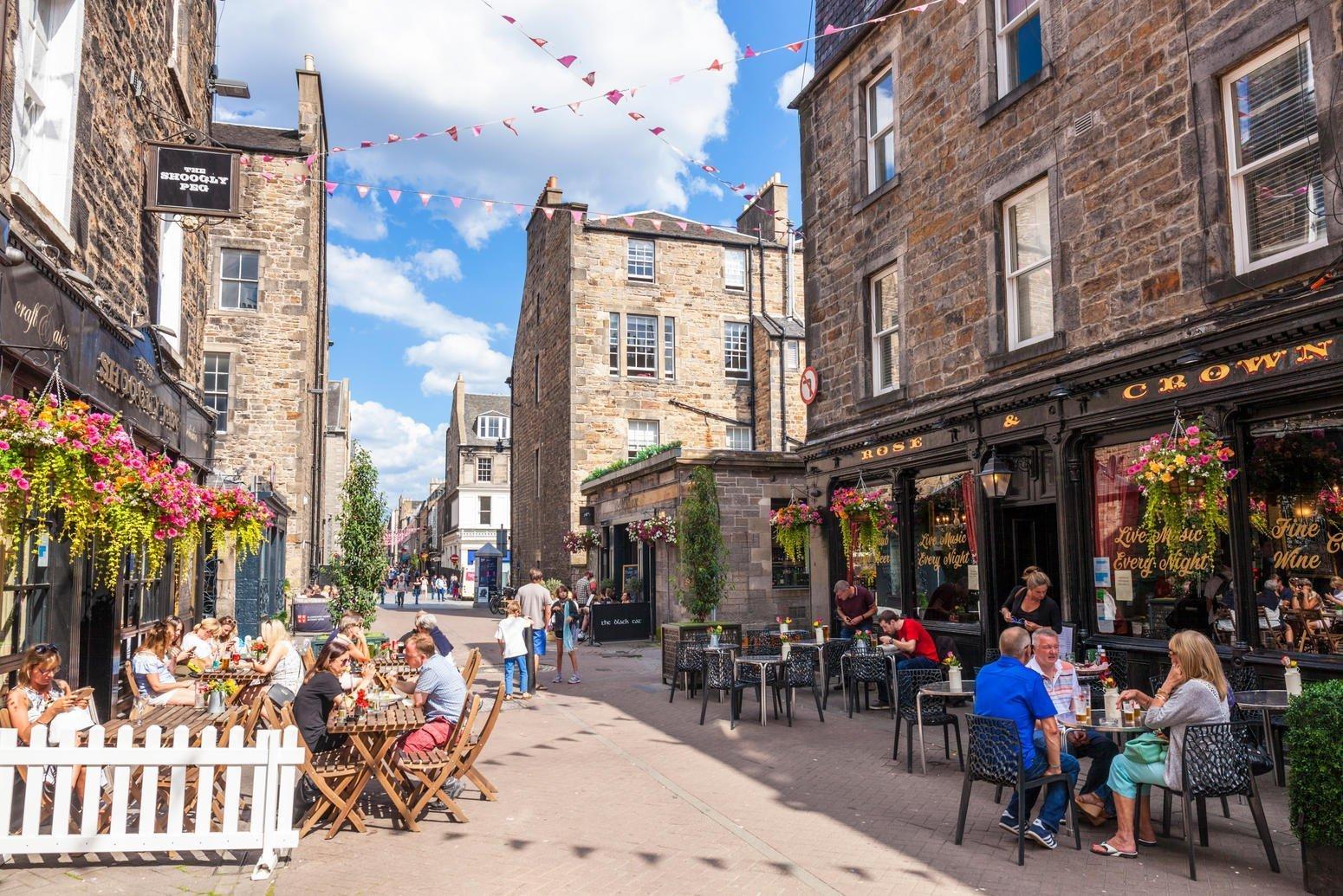 Rose street Edimburgo